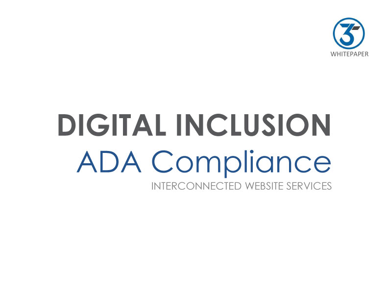 Digital Inclusion ADA Compliance - Interconnected Website Services